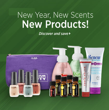 New Year, New Scents, New Products!
