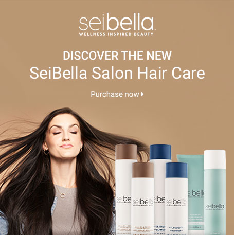 DISCOVER THE NEW SeiBella Luxury Hair Care. Purchase now.