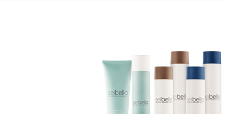 Discover the NEW Sei Bella Luxury Hair Care. Purchase Now