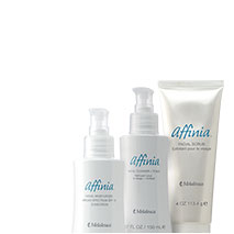 Affinia. Skin Care that really cares.