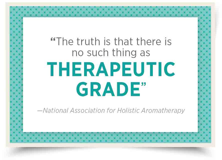 "The Myth of ""Therapeutic Grade"""